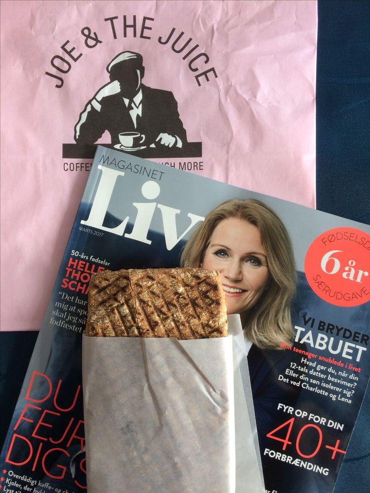 """Enjoy lunch - Tunacado sandwich fra Joe&The Juice og magasinet """"Liv"""" - (9/2-17)"""