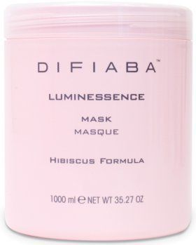 Difiaba - Luminessence Mask 33.81 oz./1000 ml. by Difiaba. $44.00. Rich mask restores chemically treated hair. Available sizes: 8.81 oz./250 ml., 35.27 oz./1 ltr.