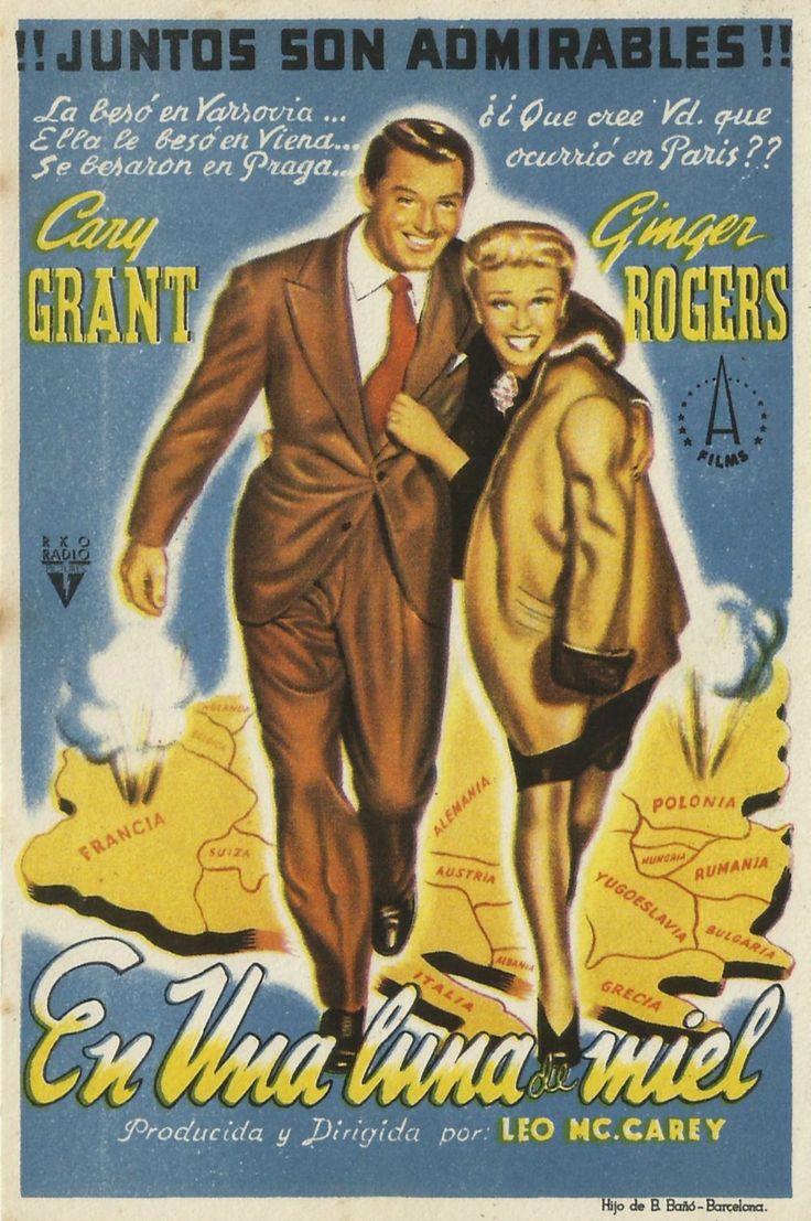 """Hubo Una Luna De Miel (1942) """"Once Upon A Honeymoon"""" De"""