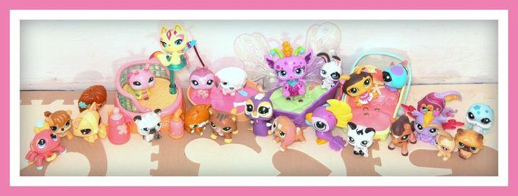 ❤️Littlest Pet Shop LPS 25 PETS Magic Motion WALKABLES Fairy Dachshund LOT❤️ #LittlestPetShop