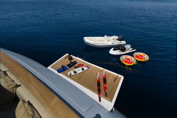 Luxury toys motor yacht Mabrouk  Luxury Yacht Charters www.seascapeyachts.com