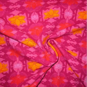 Lotus malina - Látky Chameleon