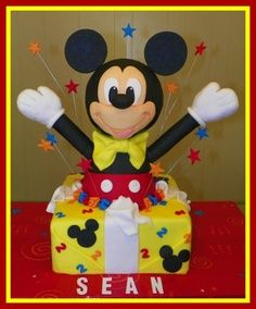 Disney Halloween Cakes | Mickey Mouse Surprise Cake
