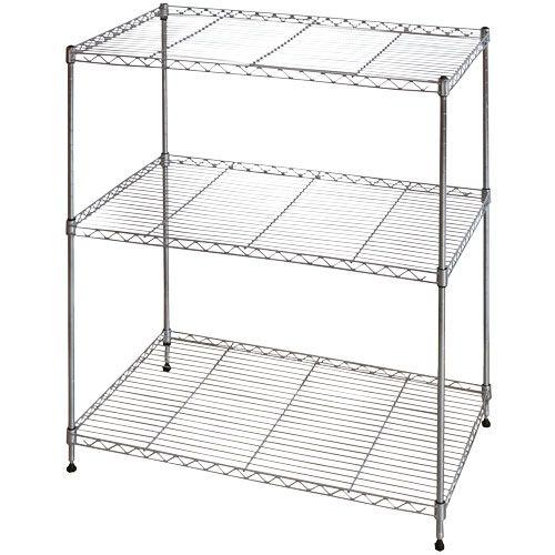 Nouveau 3 Tier Shelf Chrome - Mitre 10