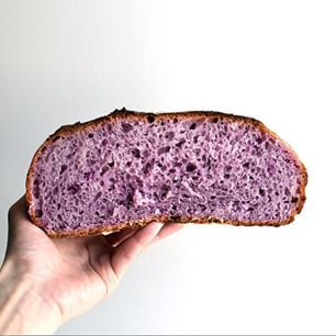 Purple bread. My latest hobby. #f52grams #feedfeed #foodstagram