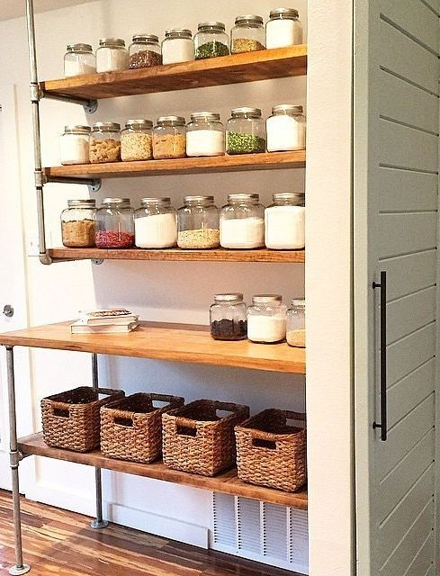 25 best ideas about Pantry shelving on Pinterest Pantry ideas