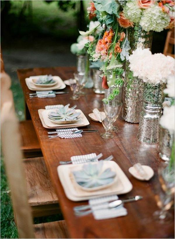 Tischdeko Hochzeit Hochzeitsideen Vintage Tischdeko Ideen Hochzeit