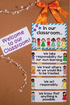 Establishing classroom expectations and building community is an integral part of any classroom atmosphere. This poster display will reinforce expectations and a sense of community, while providing the teacher with a basis for whole-class discussion. I have included 24 different expectation posters so that teachers can choose the ones that are most applicable to their individual classroom.