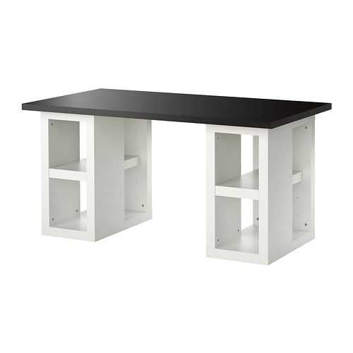 Ikea 365 glass clear glass game tables craft tables for Ikea gaming table