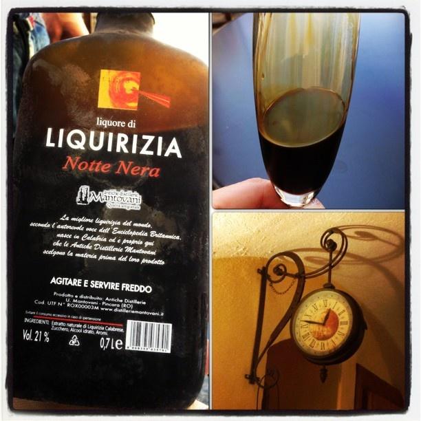 """La adoro... #Liquirizia """"Notte Nera"""" #AnticheDistillerieMantovani #PINCARA #ROVIGO"""