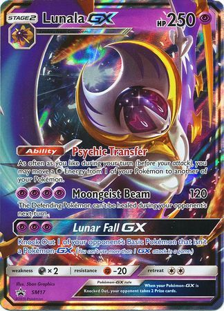 TrollandToad offers a large selection of Pokemon Singles at Great Prices. View Lunala GX - SM17 - Promo and other Pokemon Promo Cards at TrollandToad.com.