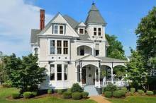 c.1884. Wood Avenue, Florence, Alabama
