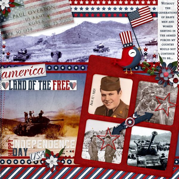 Layout by smikeel. Kits: Red White and Blue and Dae Designs http://scrapbird.com/designers-c-73/d-j-c-73_515/daedesigns-c-73_515_444/red-white-blue-by-dae-designs-p-16525.html And Be Free Quickclick Template 3 by Mamrotka Designs http://scrapbird.com/designers-c-73/k-m-c-73_516/mamrotka-designs-c-73_516_85/be-free-quick-click-template-3-p-17683.html