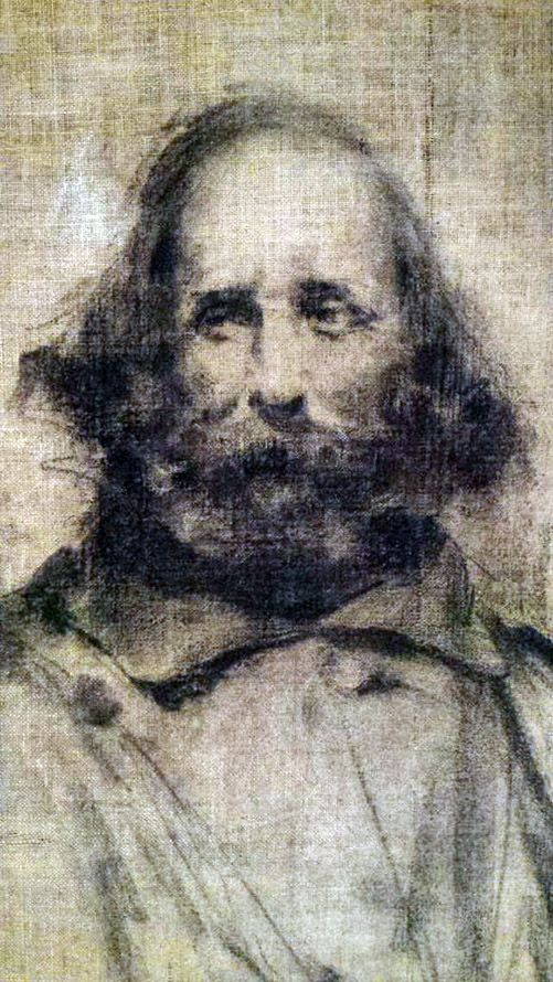 Tranquillo Cremona (1837-1878) - Ritratto di Giuseppe Garibaldi - 1875
