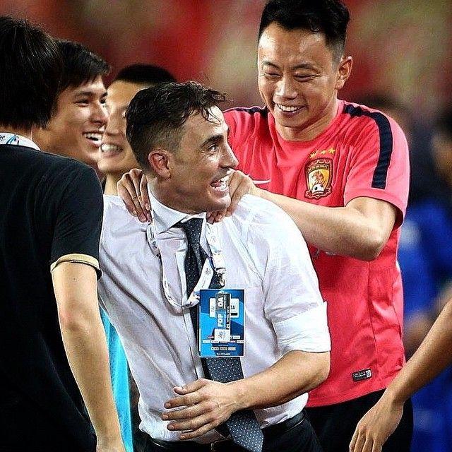 #FabioCannavaro Fabio Cannavaro: AFC Champions League, Guangzhou vs Seongnam 2-0 #lasteight #championsleague
