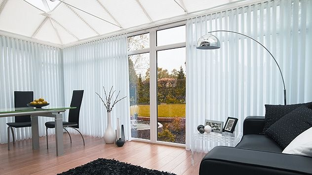 Vertical Blinds The Cord Lock Incorporates A Stainless Steel Wear Guard And Has A Crash