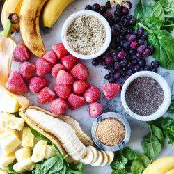 Essenszubereitung: So machen Sie Smoothie-Packs   – meals: snacks