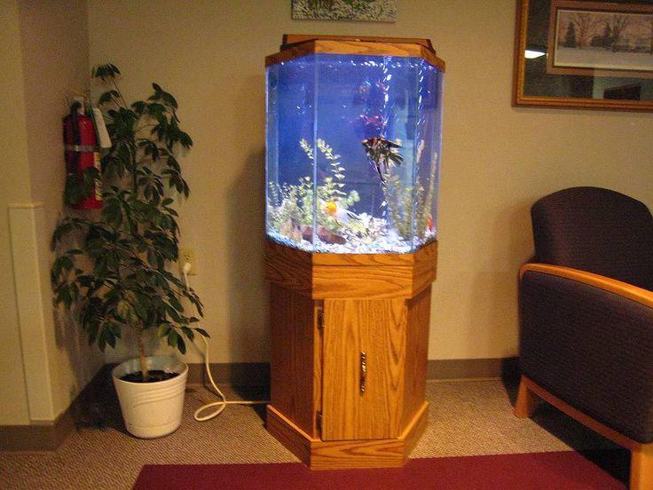 30 Gallon Hexagon Aquarium Hood Aquarium Hood Hexagon
