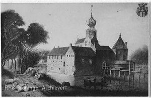 Even buiten Middelstum ligt op een eilandje het laatste stukje van wat eens een van de indrukwekkendste borgen van de ommelanden was. Borg Ewsum is waarschijnlijk begonnen als een steenhuis, dat door de eeuwen heen verbouwd werd tot een echte borg. Tot het in de 18e en 19e eeuw weer langzaam afgebroken werd vanwege de hoge onderhoudskosten. Lees meer op: http://www.deverhalenvangroningen.nl/alle-verhalen/de-borg-ewsum-in-middelstum