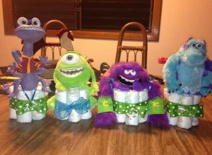 monsters inc baby shower cake - Monsters Inc Baby Shower Theme Should Start With the Invitations – Home Party Theme Ideas