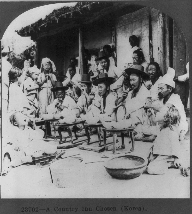 23702. A country inn, Chosen (Korea). Published 1919 Dec 18 (origins earlier). Keystone View Co. Library of Congress