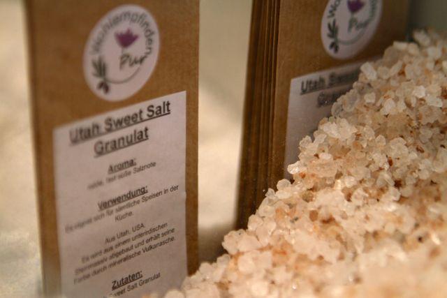 Utah Sweet Salt - das ungewöhnlichste Salz der Welt @www.wohlempfinden-pur.de