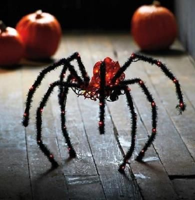 1000 images about gemmy light show on pinterest cable for Animated spider halloween decoration