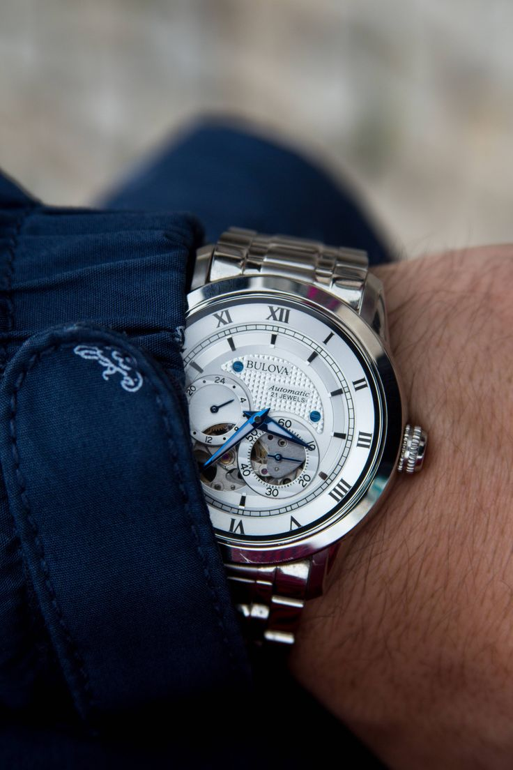 Bulova 96A118 in the cloudy weather