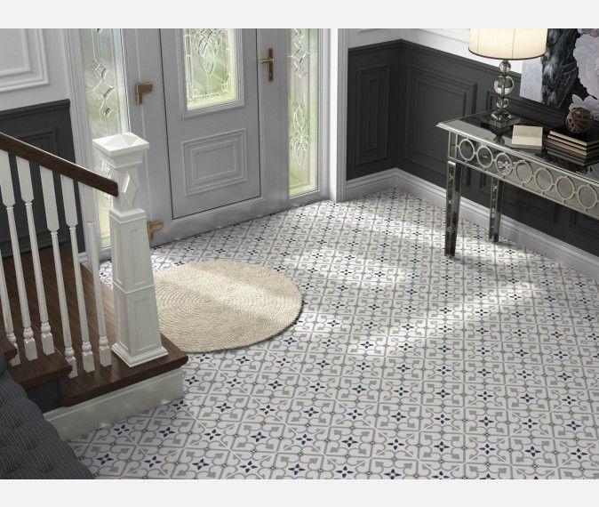 Brighton Grey Pattern Porcelain Floor Tiles Porcelain Flooring Tile Floor Patterned Floor Tiles