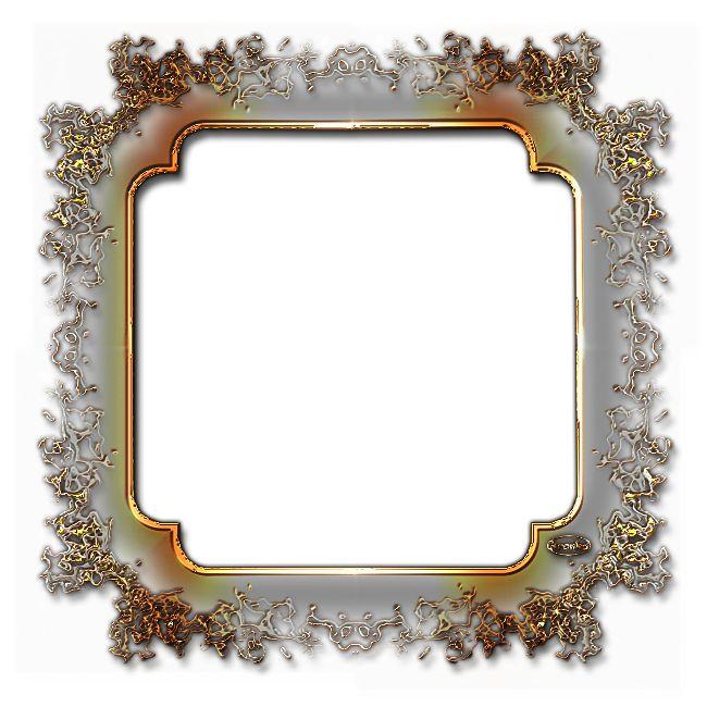 Rámečky průhledné ornamentové - čtverec a obdélník | Tvoření