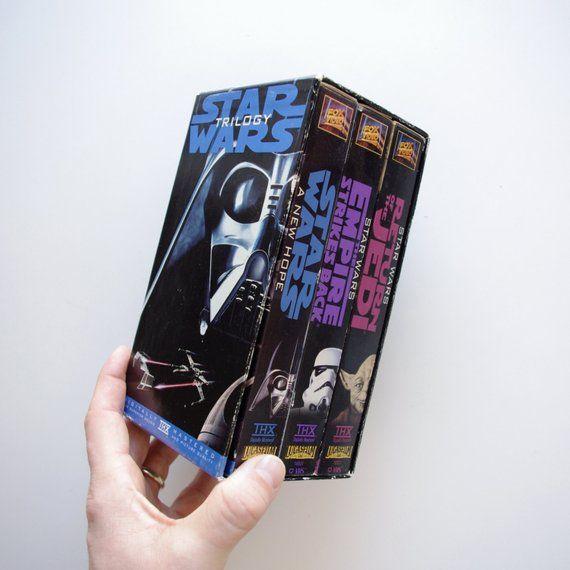 Original Versions Before Lucas Ruined Them Original Star Wars Trilogy on VHS