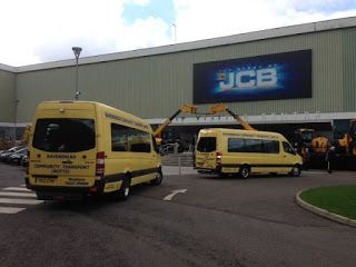 RAVENSHEAD COMMUNITY TRANSPORT: #RAVENSHEAD U3A VISIT JCB FACTORY AT ROCESTER...