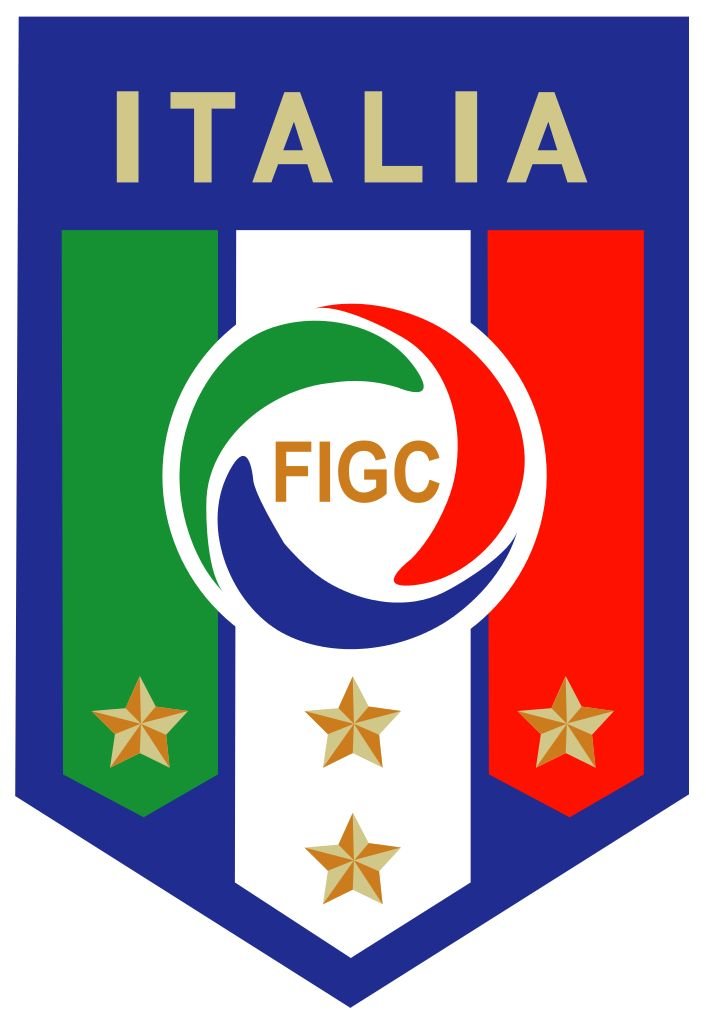 Of course we see the green, white and red come back a lot in Italy. Although the most used colour to represent Italy is blue, also used by the national sports teams.