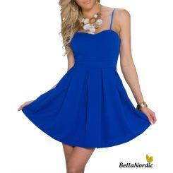 Bella kjole kongeblå