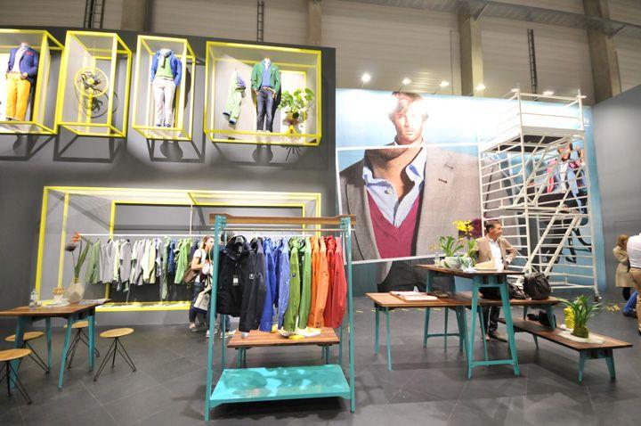 PANORAMA Berlin 2013 Summer ROY ROBSON #store #ideas #design Check out SI Retail's Garment Racks https://www.sishop.com.au/garment-racks-accessories-c-79/garment-racks-c-79_169