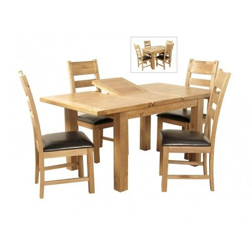 Elmwood 4x3 Butterfly Extension Dining Set, elmwood dining set, elmwood butterfly extension table, elmwood table and chairs
