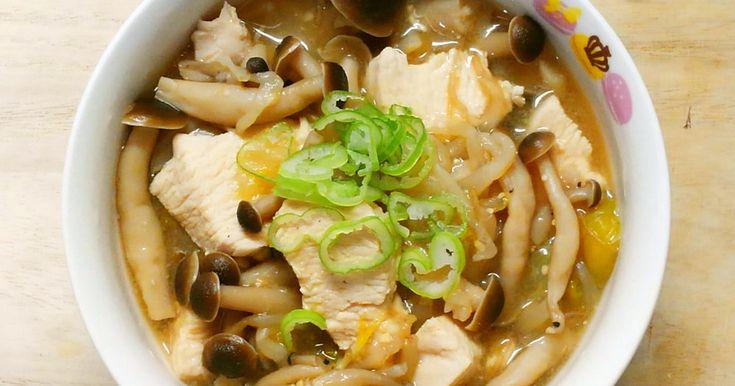 鶏むね肉ともやし しめじの味噌コンソメ煮 by 331ミミイ 【クックパッド】 簡単おいしいみんなのレシピが278万品