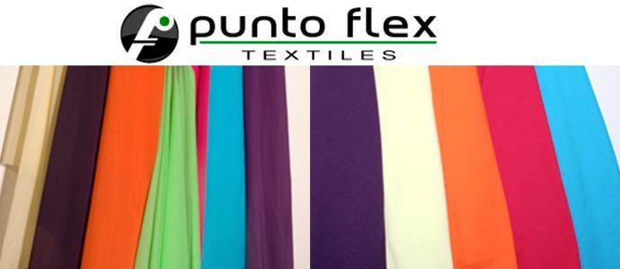 Textiles Punto Flex, blondas, encajes, microfibras, power net, spandex, tull, tricot...