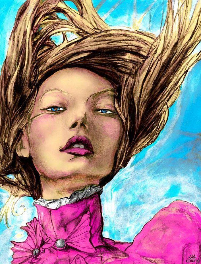 julienfoulatier:Illustration by Danny Roberts.