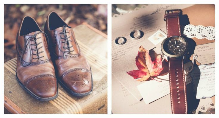 Country Wedding Groom Attire | Rustic Wedding Grooms' Attire