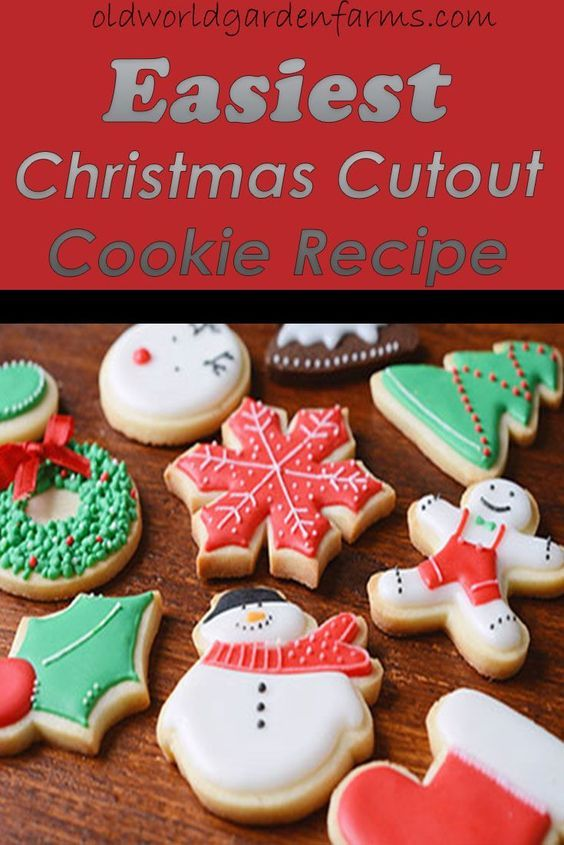 Easiest Christmas Cutout Cookie