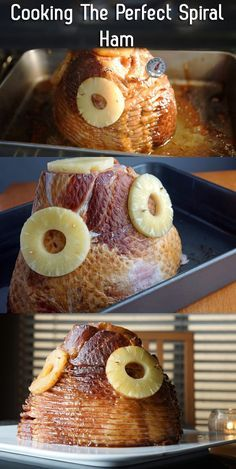 Perfect for the holidays, cook a delicious, juicy ham (that makes great leftovers, too!). Instructions here: http://www.ehow.com/way_5220722_instructions-cooking-spiral-ham.html/?utm_source=pinterest.com&utm_medium=referral&utm_content=inline&utm_campaign=fanpage