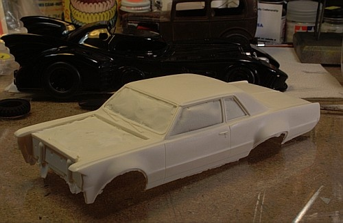Rare Gray Ghost Resin Model Kit Cool Cars Motorcycles