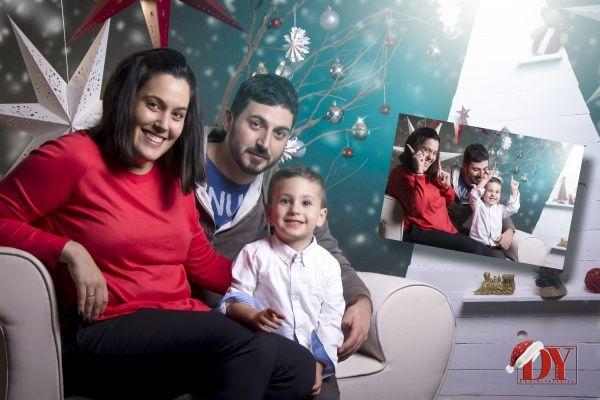 Sesiones de familia en Navidad