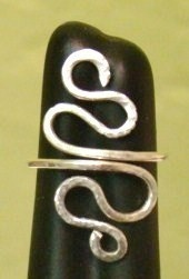 Sterling Silver Snake Ring Hand Hammered by SalemStreetBeadery, $18.00: Hands Hammer, Silver Snakes, Hammer Sterling, Crafts Idea, Rings Hands, Silver Jewelry, Silver Rings, Jewelry Idea, Custom Sterling