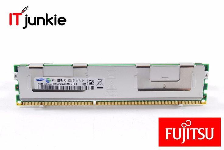 1x 16GB Fujitsu PC3-8500R Memory Primergy Ram S26361-F4412-L516 M393B2K70CM0-CF8 #Fujitsu