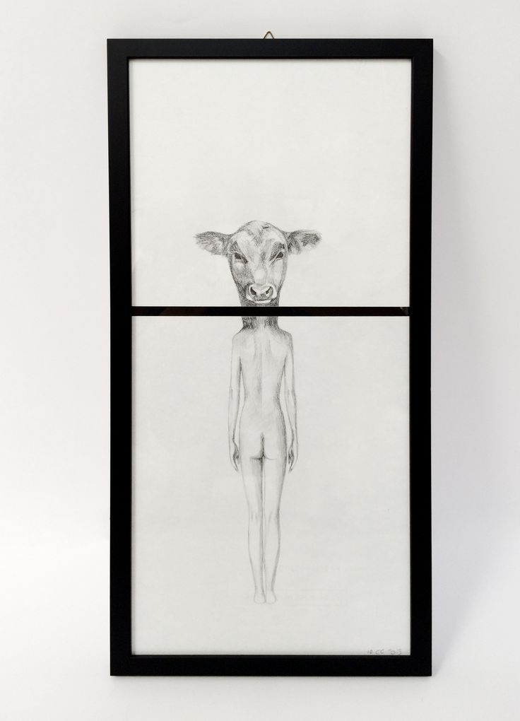 Woman Cow by Carlotta Carzaniga