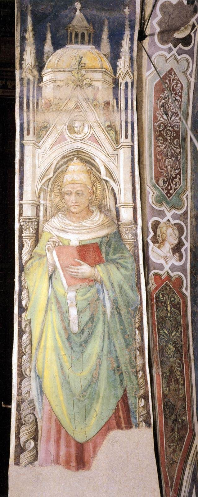 Saint Gregory the Great / Gregor der Große around 1447 Bicci di Lorenzo