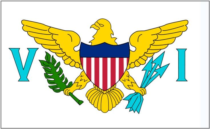 US Virgin Islands Flag www.steelasophical.com