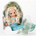 Precious Moments Dolls 2009 | Image 1 ★ New PRECIOUS MOMENTS DOLL Little MERMAID w Clam SHELL